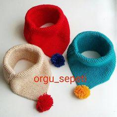 """930 Beğenme, 35 Yorum - Instagram'da songül (@orgu_sepeti): """"Günaydın mutlu pazarlar🙋Serap hanımın sipariş ettiği boyunluklari bende çözmek için epey kafa…"""" Knitting Stiches, Baby Hats Knitting, Baby Knitting Patterns, Loom Knitting, Knitted Hats, Crochet Patterns, Crochet Beanie, Crochet Baby, Knit Crochet"""