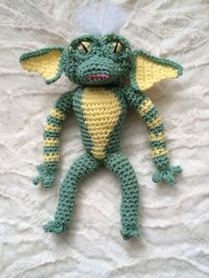 Crochet Stripe the gremlin