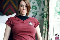 The beautiful Chad from SG #Chad #Redhead #NaturalRedhead #Boobs #Beautiful #Tattoo #SuicideGirls #Perfect #NonNude #StarTrek | smutty.com