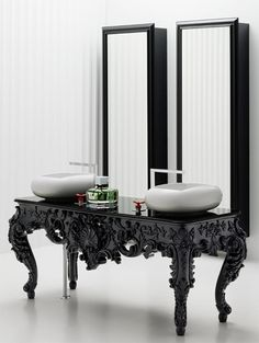 #antique #modern #vanity #bathroom