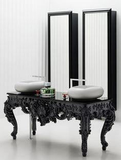 #antique #modern #vanity #bathroom