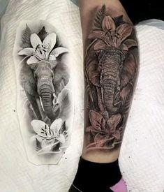 Australian Tattoo, Tattoo Videos, Realism Tattoo, Australian Artists, Leg Tattoos, Tattoo Artists, Sydney, Tattoo Designs, Elephant