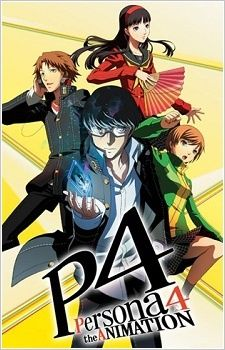 Persona 4 The Animation.   A teenager moves to a rural town and is quickly swept into a murder mystery. Mysterious powers and parallel worlds makes certain that Yu Narukami and his new friends have to rely on only themselves to prevent more murders and figure out what is causing everything to happen. A great adaptation of an excellent PS2 RPG game.