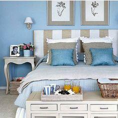 Boa noite! ✨ Inspiração ✔️ A harmonia do azul... #ambientes #arquitetura #arquiteture #home #arquiteturadeinteriores #decore #homedecor #homestyle #style #homedesign #interiores #bed #quartodecasal #bedroom #idea #inspiração #instadecor #design #interiordesign #decoration #decoreseuestilo #desingdecor #decoracaodeinteriores #luxury #decoração #detalhes #details #casaluxo #referencia