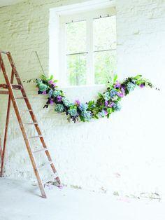 Hydrangea Garland Willow Crossley Inspire