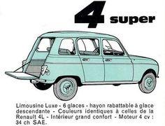 Sur les premiers millésimes de la Renault 4, on trouve des modèles intéressants et dignes d'intérêt dans le monde de la collection puisque certaines spécificités les rendentexclusiv...