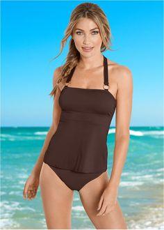 5e213e0a3b High waist moderate bottom. Swimsuit TopsBikini ...