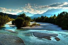 Isar / Wallgau - Travel and Extra What A Wonderful World, Wonderful Places, Beautiful World, Beautiful Places, Beautiful Pictures, Beau Site, Adventure Is Out There, Germany Travel, Outdoor Travel