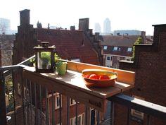 A nice dinner on your balcony with the BALKON.BAR. www.balkon.bar