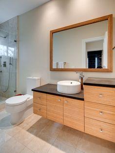 Bamboo Bathroom Vanities