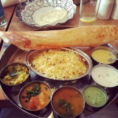"Must go there! Where: Covent Garden, Hammersmith, or Tottenham Court Road Cost: From £3.50 ""South Indian vegetarian food – you get poppas, vegetable curry, pilau rice, sambar, AND dessert for less than a tenner."" – Helen Parkin on Facebook 21 Of The Most Delicious Cheap Eats In London"