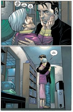 "Aunt May and Peter from ""The Conversation"" (Amazing Spider-Man #38 vol. 2)"