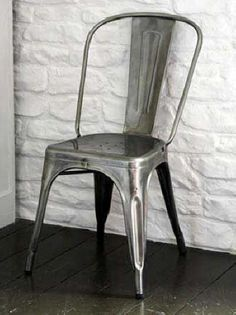 tolix cafe chair from pottery barn i m not a huge pb fan and these