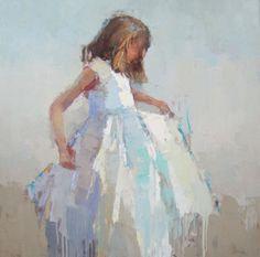 Artist ~ Barbara Flowers https://artcld.com/mkt/Art/Details/416729?artist=Barbara%20Flowers&title=The%20Dress