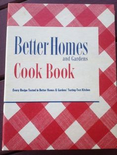 Vintage 1951 Better Homes & Gardens Cookbook I'm selling on ebay.  Check it out! Great condition.