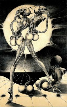 H.R. Giger, Atomic Children RIP