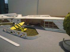 Thesis work - Aerospace museum
