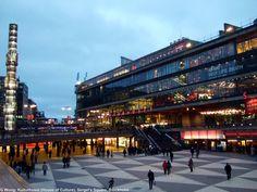 Kulturhuset (brutalist) by Peter Celsing, Stockholm