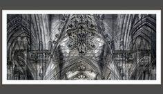 Roland Fischer, Barcelona, 2004, C-print Diasec, 59.1x 124.4 in (150 x 316 cm), edition of 5