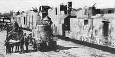 Tren blindado. Rusia