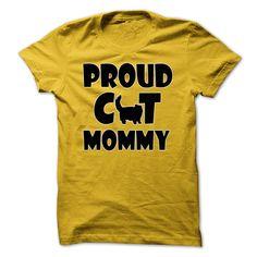 Proud Cat Mommy Tshirt | DonaShirts.com - Dare To Be Tshirts, Hoodies And Custom