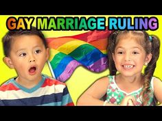 ▶ Kids React to Gay Marriage Ruling - YouTube // These kids give me hope for the future. And I am soo happy to see that Lucas has changed his opinion =D