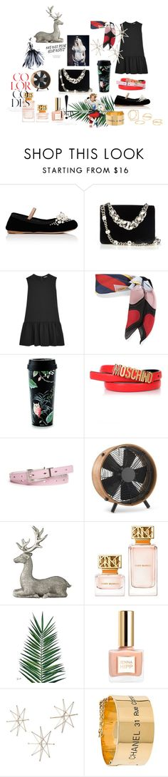 """""""Color code"""" by alexandra1760 ❤ liked on Polyvore featuring Miu Miu, Gucci, Kate Spade, Moschino, New Directions, Williams-Sonoma, Lene Bjerre, Tory Burch, Nika and Uttermost"""