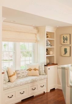 window seat | Casabella Home Furnishings and Interiors