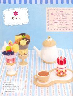 Felt Food and Felt Toy Japanese craft book in by MeMeCraftwork