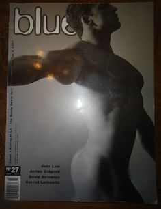 GAY AUSTRALIAN (NOT ONLY) BLUE NO.27 MAGAZINE! JUDE LAW! MALE PHYSIQUE! FASHION! | eBay