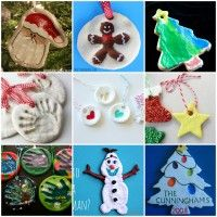 25+ Easy Salt Dough Ornaments for Kids to Make