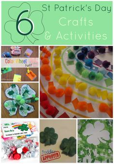 Toddler Approved!: St. Patrick's Day Craft & Activities Round Up