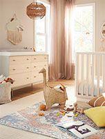 baby + kids Mid Century Bathroom, Oversized Furniture, Oak Shelves, 6 Drawer Dresser, Bathroom Hardware, Coffee Table With Storage, Mid Century Design, Engineered Wood, Decoration