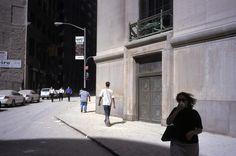 Alex Webb USA. New York City. September 11, 2001. Financial District.