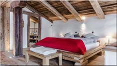 Rusztikus parasztház hálószoba Alpesi parasztház hálószoba Hálószoba, fagerendás ház Rusztikus fürdőszobás hálószoba Alpesi ház Ausztriában (Szép házak, luxuslakások 8) Outdoor Furniture, Outdoor Decor, Bed, Home Decor, Farm Cottage, Cottage Chic, Decoration Home, Stream Bed, Room Decor
