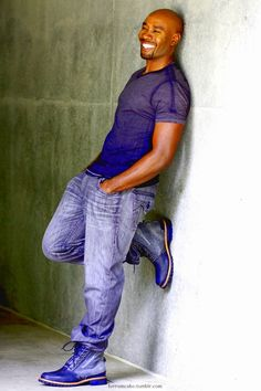 love the boots - Morris Chestnut