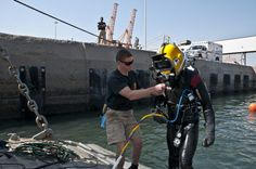 Army divers splash headfirst into training | Article | The United States Army