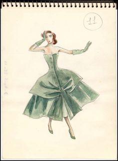 Magnificent!  Fashion Illustration, Les Arts Decoratifs