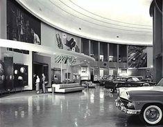 Ford Rotunda interior c. 1955