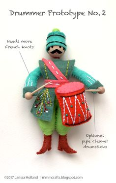 final Drummer prototype and Sulky Printable Sticky Fabri-Solvy is now called Stick 'n Stitch | mmmcrafts | Bloglovin'