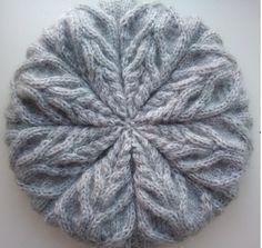 Ударим шапка-беретами по беспогодью ;-) / Вязание спицами / Вязание спицами. Работы пользователей