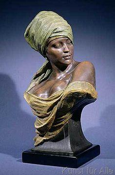 Friedrich Goldscheider - Nubian Girl