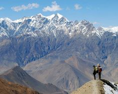 The Annapurna Circuit, a 3 week trek through the Himalayan Mountains of Nepal, a hike full of natural and cultural diversity which allows you to interact with the Tibetan mountain peoples, see Buddhist temples, visit teahouses, soak in hot springs and take in some of the most awe-inspiring scenery in the entire world.