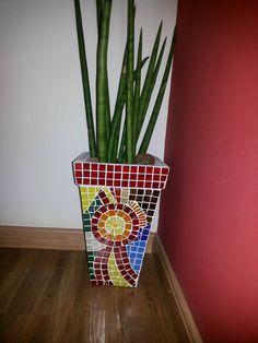 Vaso de mosaico Mosaic vessel
