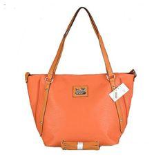 Coach Legacy East/West Mandarino Tote Bag Leather Studded