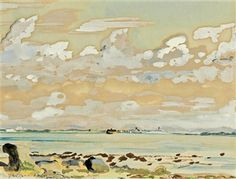 A View from the Coast By Fairfield Porter