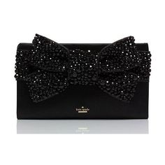 Kate Spade Evening Belles Lucinda ($598) ❤ liked on Polyvore featuring bags, handbags, clutches, bow handbag, evening handbags, black evening purse, black purse and long purses - bag hand, ladies bags for sale, designer bags and purses *sponsored https://www.pinterest.com/bags_bag/ https://www.pinterest.com/explore/bags/ https://www.pinterest.com/bags_bag/mens-bags/ http://www.forever21.com/EU/Product/Category.aspx?br=F21&category=ACC_Handbags