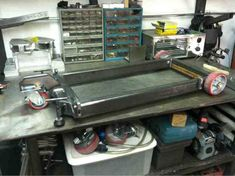 http://weldingweb.com/showthread.php?101511-Vertical-Band-Saw-mobile-bases