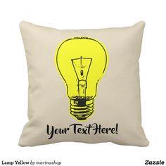Lamp Yellow