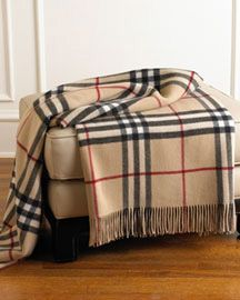 Burberry Throw Blanket - Look 4 Less and Steals and Deals.
